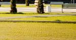 Решетка газонная