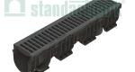 Лоток водоотводный пластиковый PolyMax Basic DN150 H217 (комплект)