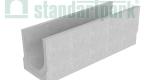 Лоток водоотводный бетонный BetoMax Basic DN300 без усиливающих насадок и решеток