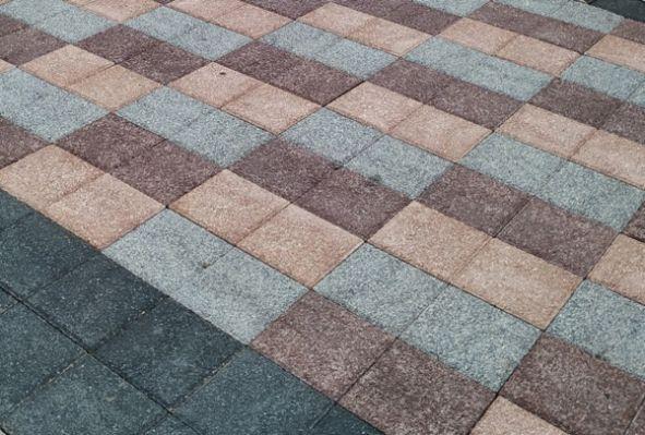 Тротуарная плитка серия